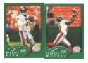 2002 Topps Collection Football Team Set - ATLANTA FALCONS