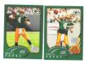 2002 Topps Collection Football Team Set - GREEN BAY PACKERS