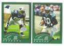 2002 Topps Collection Football Team Set - CAROLINA PANTHERS