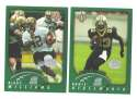 2002 Topps Collection Football Team Set - NEW ORLEANS SAINTS