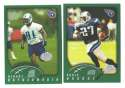 2002 Topps Collection Football Team Set - TENNESSEE TITANS