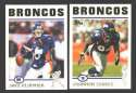 2004 Topps Football Team Set - DENVER BRONCOS
