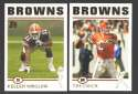 2004 Topps Football Team Set - CLEVELAND BROWNS