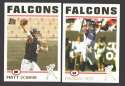 2004 Topps Football Team Set - ATLANTA FALCONS