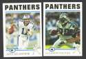 2004 Topps Football Team Set - CAROLINA PANTHERS