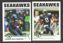 2004 Topps Football Team Set - SEATTLE SEAHAWKS