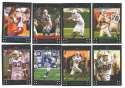 2007 Topps Football Team Set - INDIANAPOLIS COLTS