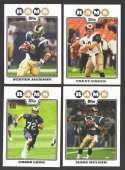 2008 Topps Football Team set - ST. LOUIS RAMS