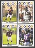 2008 Topps Football Team set - BALTIMORE RAVENS   w/ Joe Flacco RC