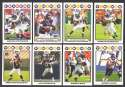 2008 Topps Football Team set - MINNESOTA VIKINGS