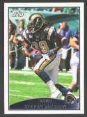 2009 Topps Football Team Set - ST. LOUIS RAMS