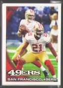 2010 Topps Football Team Set - SAN FRANCISCO 49ERS