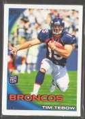 2010 Topps Football Team Set - DENVER BRONCOS w/ TIM TEBOW RC