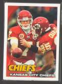 2010 Topps Football Team Set - KANSAS CITY CHIEFS