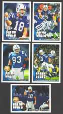 2010 Topps Football Team Set - INDIANAPOLIS COLTS