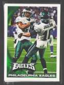 2010 Topps Football Team Set - PHILADELPHIA EAGLES