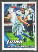 2010 Topps Football Team Set - DETROIT LIONS