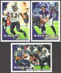2010 Topps Football Team Set - BALTIMORE RAVENS