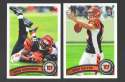 2011 Topps Football Team Set Cincinnati Bengals - 14 Cards