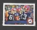 2011 Topps Football Team Set Buffalo Bills - 11 Cards