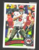 2011 Topps Football Team Set Tampa Bay Buccaneers - 10 Cards