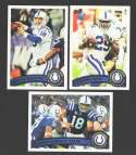 2011 Topps Football Team Set Indianapolis Colts - 14 Cards