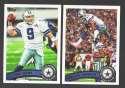 2011 Topps Football Team Set Dallas Cowboys - 15 Cards