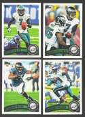 2011 Topps Football Team Set Philadelphia Eagles - 12 Cards