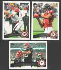 2011 Topps Football Team Set Atlanta Falcons - 13 Cards