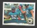 2011 Topps Football Team Set Jacksonville Jaguars - 9 Cards