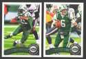 2011 Topps Football Team Set New York Jets - 16 Cards