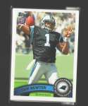2011 Topps Football Team Set Carolina Panthers - 13 Cards w/ Cam Newton RC