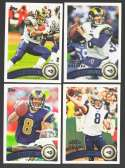 2011 Topps Football Team Set St. Louis Rams - 14 Cards