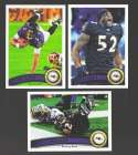 2011 Topps Football Team Set BALTIMORE RAVENS - 18 Cards