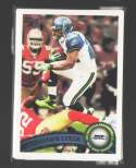 2011 Topps Football Team Set Seattle Seahawks - 11 Cards