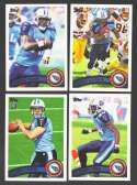 2011 Topps Football Team Set Tennessee Titans - 12 Cards