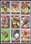 2013 Topps Football Team Set - SAN FRANCISCO 49ERS