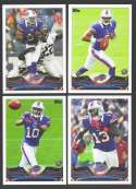 2013 Topps Football Team Set - BUFFALO BILLS