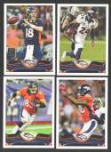 2013 Topps Football Team Set - DENVER BRONCOS