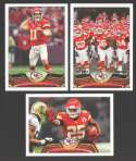 2013 Topps Football Team Set - KANSAS CITY CHIEFS