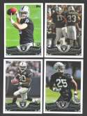 2013 Topps Football Team Set - OAKLAND RAIDERS