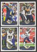 2013 Topps Football Team Set - ST. LOUIS RAMS