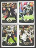 2013 Topps Football Team Set - NEW ORLEANS SAINTS