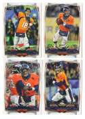 2014 Topps Football Team Set - DENVER BRONCOS