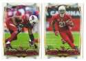 2014 Topps Football Team Set - ARIZONA CARDINALS