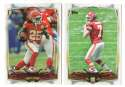 2014 Topps Football Team Set - KANSAS CITY CHIEFS