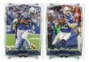 2014 Topps Football Team Set - INDIANAPOLIS COLTS