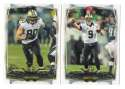 2014 Topps Football Team Set - NEW ORLEANS SAINTS