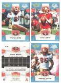 2008 Score Super Bowl XLIII GLOSSY Team set - SAN FRANCISCO 49ers