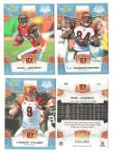 2008 Score Super Bowl XLIII GLOSSY Team set - CINCINNATI BENGALS